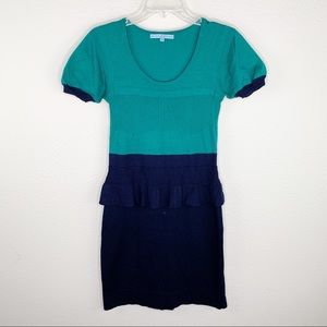 Antonio Melani Peplum Knit Dress B14